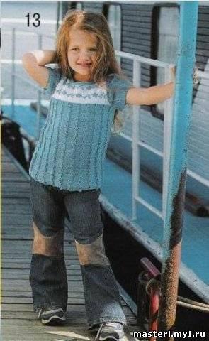 вязаное платье спицами схема. вязанная кофта свитера для девочки.